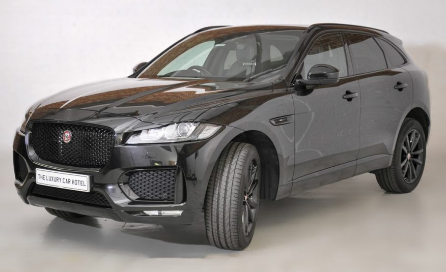 2019 Jaguar F Pace 2.0d Chequered Flag Auto AWD (s/s) 5dr